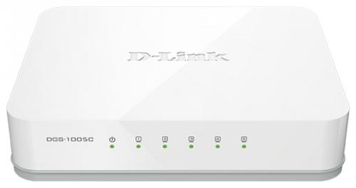 Сетевой коммутатор D-link DGS-1005D